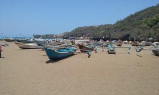 Pantai Baron fishing boat shot